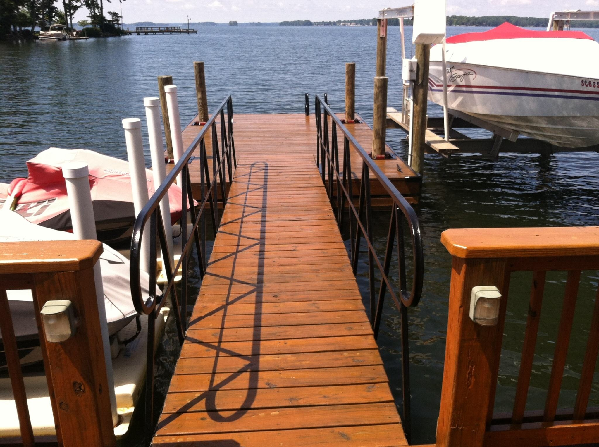 Dock stain example